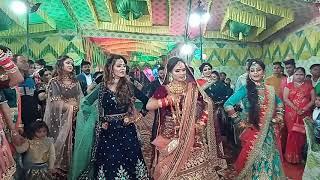 Bridal entry ...mujhe sajan k ghr Jana h ....5 sisters parfomnce