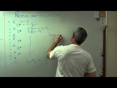Math and Music 1 - Musical Notes and their Frequencies .MP4