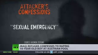 �Sexual emergency� Iraqi refugee raped 10yo boy at swimming pool in Austria