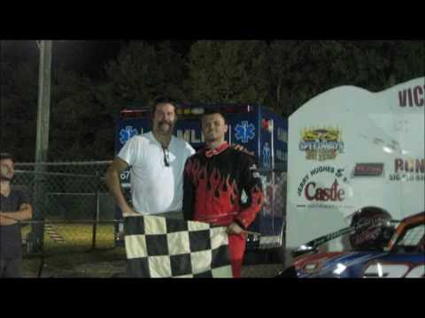 Jared LaBagh # 38 Hamlin Speedway All Star Slingshots 9/10/16