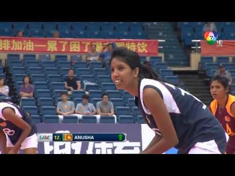 [Set 2]Thailand vs Sri lanka[2015 AVC Asian Women's Volleyball Championship]