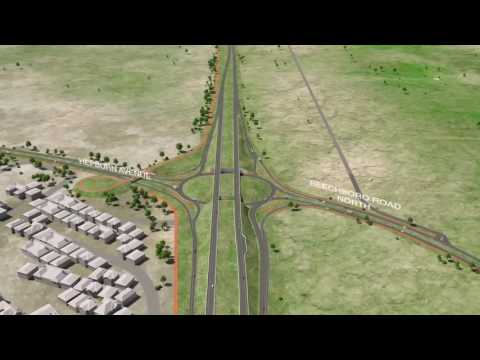 northlink-wa-3d-fly-through-animation-—-central-section,-reid-highway-to-ellenbrook