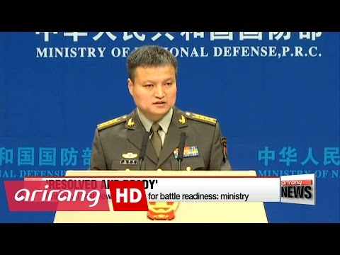 China's defense ministry plans to counter THAAD with new weapons