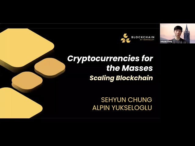 Lecture 8 - Scaling Blockchain