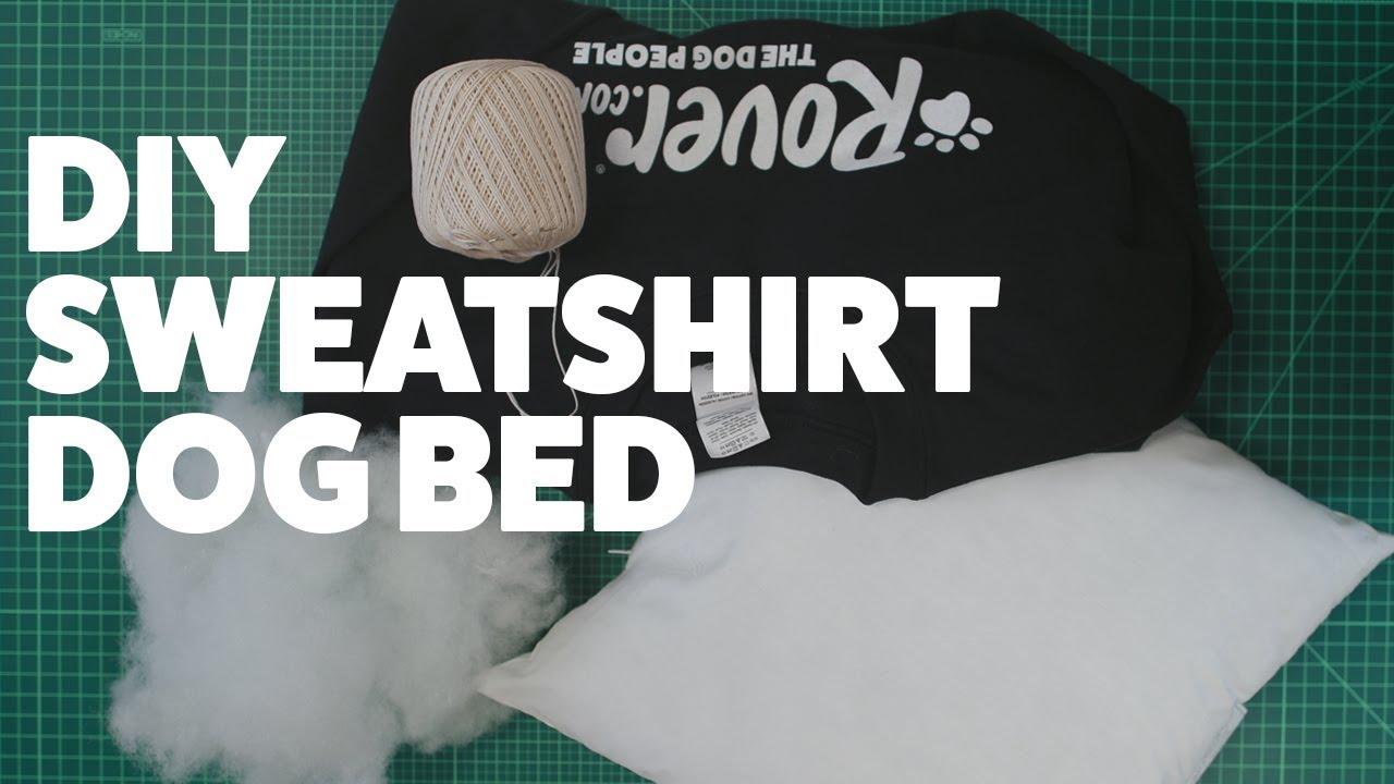 Diy Sweatshirt Dog Bed Diywednesday Rover