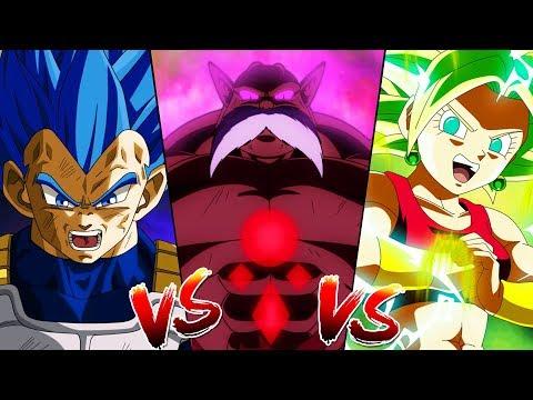 Vegeta Vs Toppo Vs Kefla (Dragon Ball Super)