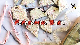Peppermint Bark Recipe - Holiday Gift Idea - Honeysucklecatering