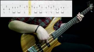 The Rides - Only Teardrops Fall (Bass Cover) (Play Along Tabs In Video)