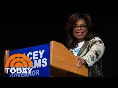 Oprah Winfrey Hits Campaign Trail In Georgia For Stacey Abrams   TODAY