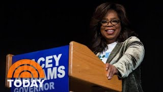 Oprah Winfrey Hits Campaign Trail In Georgia For Stacey Abrams | TODAY