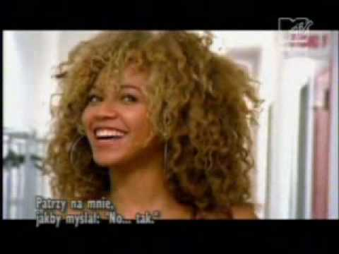 Beyonce making the video work it out