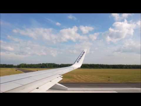 Lot z Warszawy / Modlin do Gdańska - Ryanair FR3097 - 10.06.2016