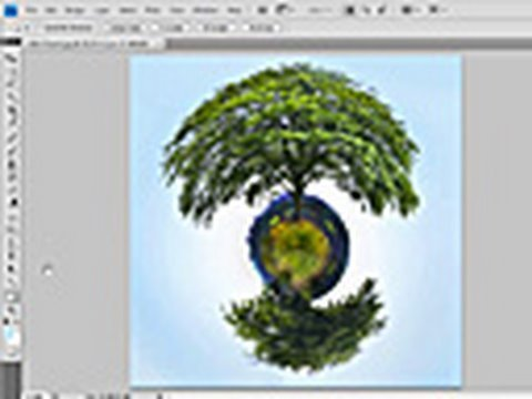 How to create the 'tiny planet' effect out of a panorama ...