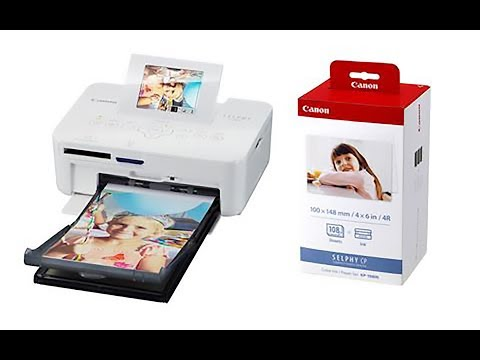 Canon Selphy CP820 How To Install & Print In Windows 7, 8 Or 10