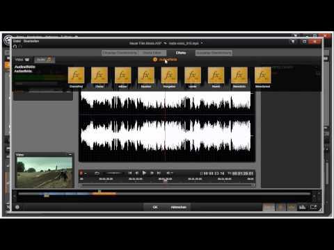 Übersicht Effekte Editor von Pinnacle Studio 16 und 17 Video 67 von 114