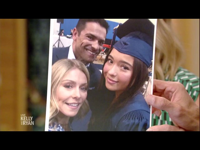 Kelly\'s Daughter Lola Graduates from High School