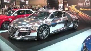 Chrome Audi R8 GT-R (Christmas Special)