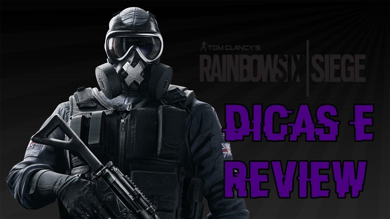 Rainbow Six 13 Review E Dicas Da Operador Mute Util Youtube