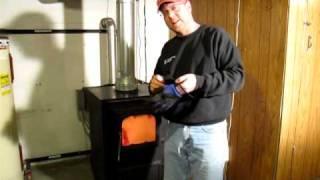 Coal Stove Domestic Water Heating