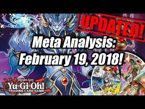 Yu-Gi-Oh! Meta Analysis: February 19th, 2018! (Post-YCS Atlanta)
