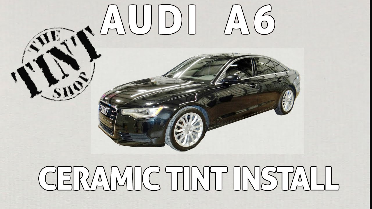 Window Tint on an Audi A6 - YouTube on honda accord tinted, audi s5 tinted, audi a3 tinted, nissan altima tinted, jeep grand cherokee tinted, audi a4 avant tinted,