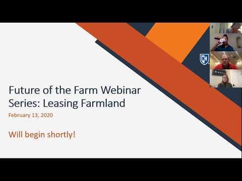 Leasing Farmland Webinar