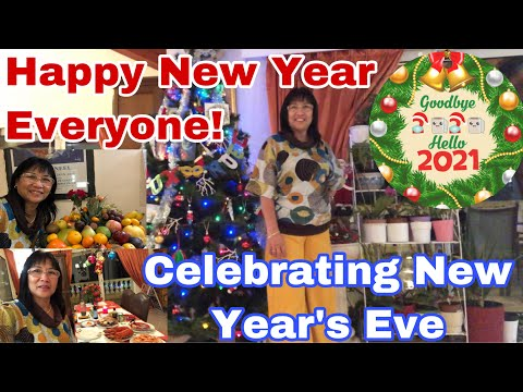 Happy New Year Everyone/Celebrating New Year's Eve/Dinner At Home/ Mukbang Seafood/Vicinity