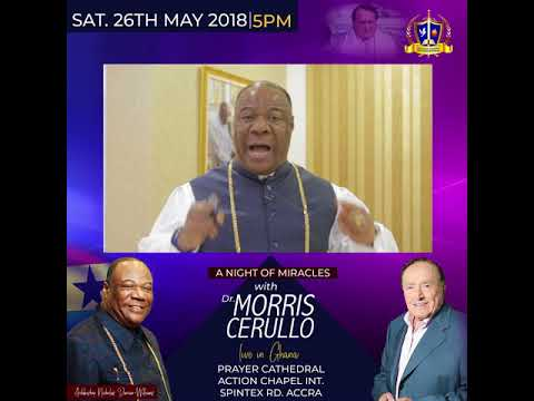 A NIGHT OF IMPARTATION AND MIRACLES WITH DR. MORRIS CERULLO