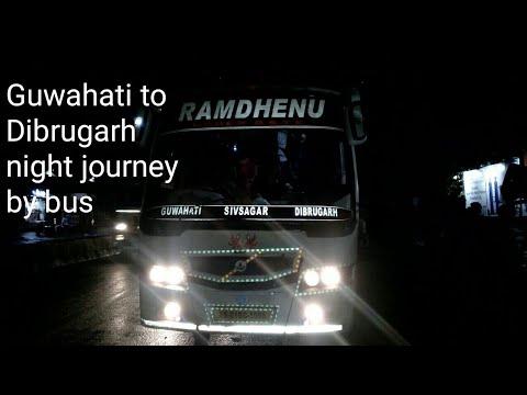 My journey from Guwahati to Dibrugarh (SPONSORED)✓ RAMDHENU TRAVELS