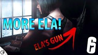 More Ela OFFICIAL Teaser Trailer! - Blood Orchid - Hong Kong - Rainbow Six Siege - R6