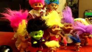 From Garage Sale to eBay:  Troll Doll Haul