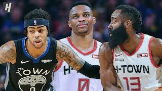 Houston Rockets vs Golden State Warriors - Full Game Highlights | December 25 | 2019-20 NBA Season