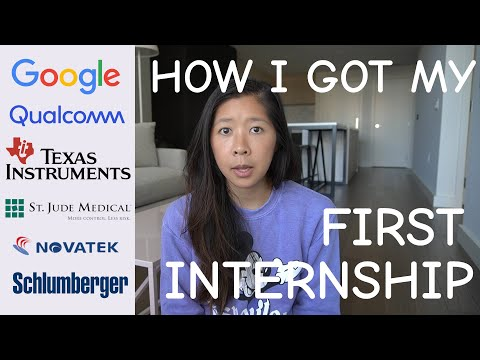How I got my first internship in Electrical Engineering   Personal advice