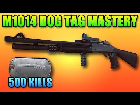 M1014 Mastery Dog Tag | 500 Kills Battlefield 4 Shotgun Gameplay