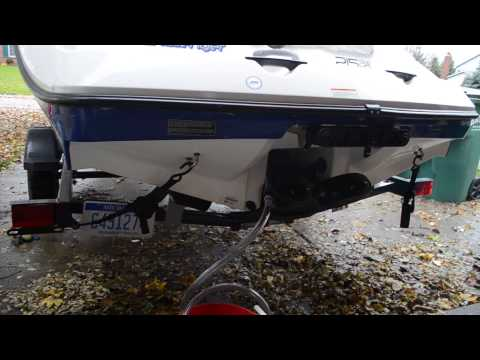 How To Winterize Your Seadoo Challenger 180 Step 2