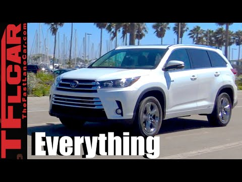 2017 Toyota Highlander Hybrid Review Everything You Ever Wanted To Know