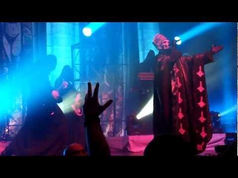 Ghost - Glasgow - 19/03/2013 - Infestissumam + Per Aspera Ad Inferi + Year Zero + Monstrance Clock