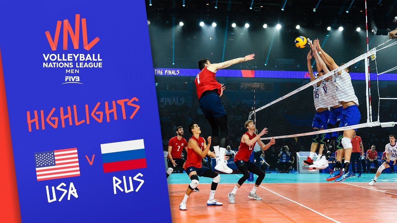 Download USA vs. RUSSIA - Highlights Men | FINAL | FIVB Volleyball Nations League 2019