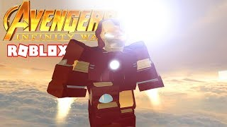 I TRANSFORM INTO IRON MAN IN ROBLOX!!!