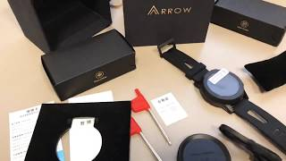 Arrow Smartwatch ⏳ unboxing and language to English 🔡