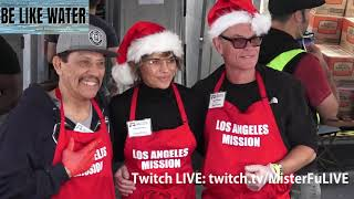 Danny Trejo, Lisa Rinna, Harry Hamlin & Christina DeRosa - LA Mission