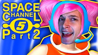 RICH PEOPLE DANCING SILLY - Space Channel 5 Part 2 - DK1games