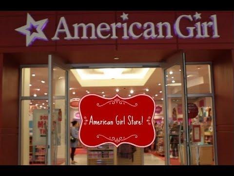 American Girl Store, Tyson's Corner VA!- Nanea Mitchell, Z Yang, Tenney Grant, Logan Everett+