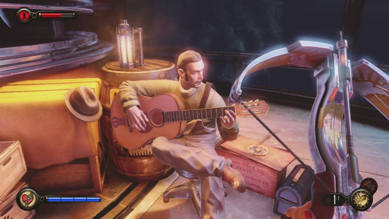 Bioshock Infinite Burial At Sea Episode 2 Song Why Oh Who Can T I