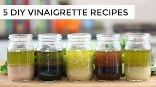 Learn to make one (or all!) of the 5 easy, healthy salad dressing recipes. All are tasty variations of a basic vinaigrette. ✳︎DOWNLOAD YOUR FREE ...
