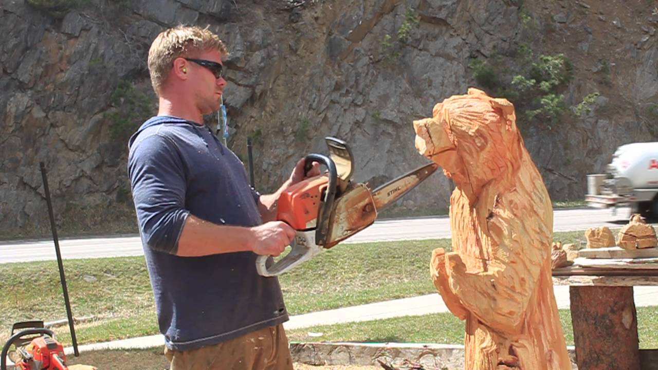 Dahl s chainsaw art keystone sd youtube