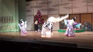 藤間扇玉会舞踏発表会 850人を魅了