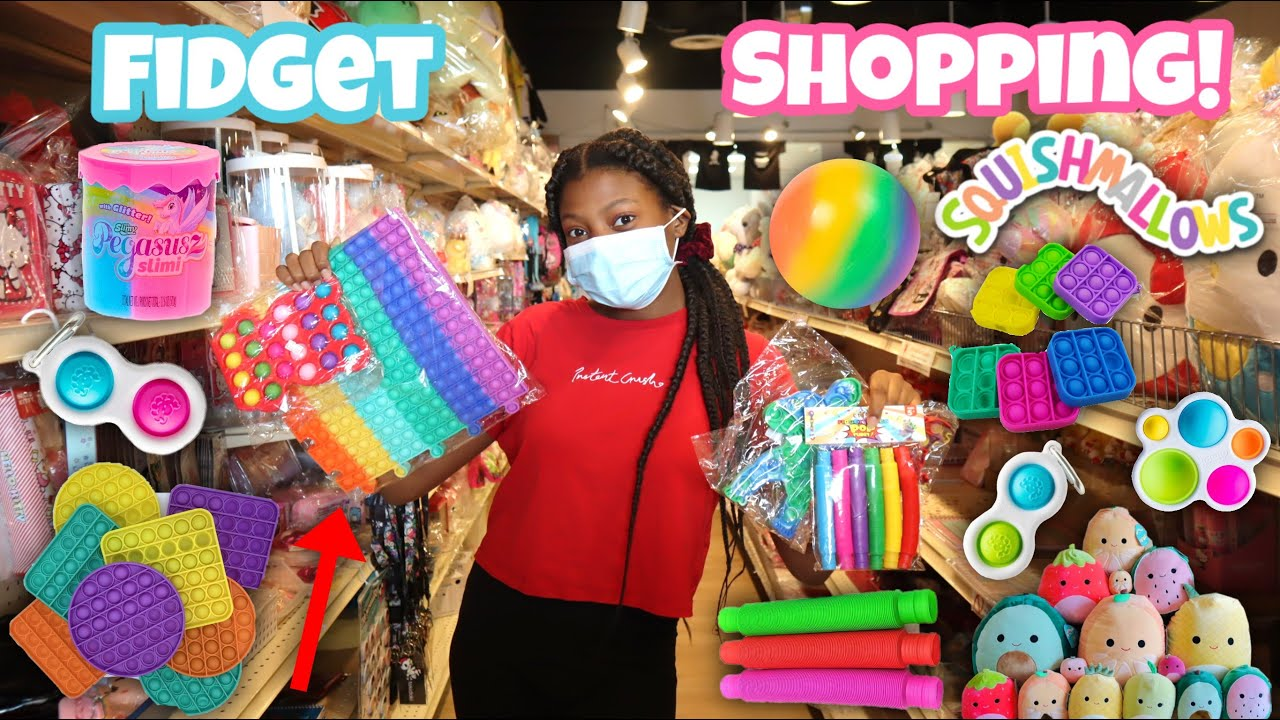 Shopping For For Fidgets At Michaels + Dollar Tree & More!