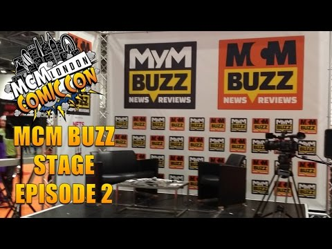 Will Patton MCM Buzz Stage Episode 2 // MCM London Comic Con May 2015