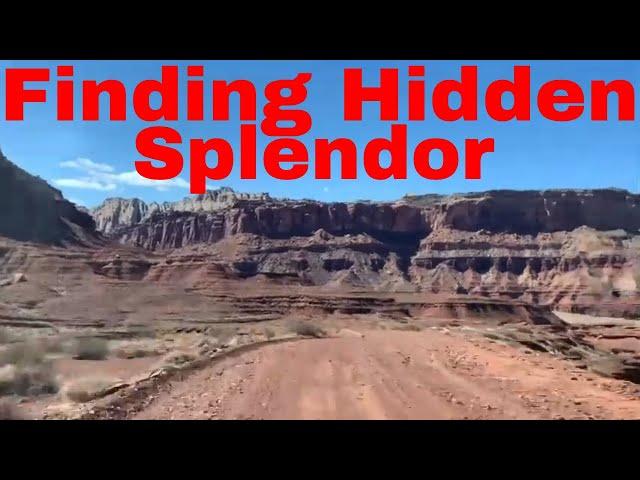 Finding Hidden Splendor @ San Rafael Swell Scenic Drive March 2020